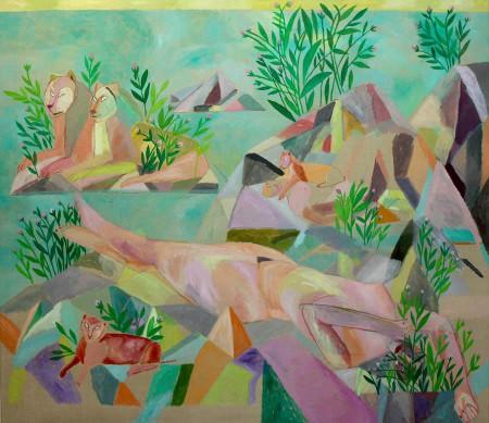 Eiland-Island 150x130 cm  1983
