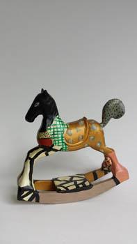 3-Paard_Horse 15x15x5 cm 1989