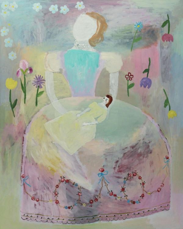 Moeder-Mother 120x150 cm 2000