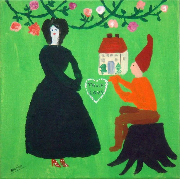 True Love 30x30 cm 1995