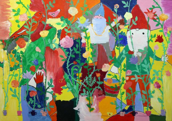 Tuin-Garden 150x105 cm 2003