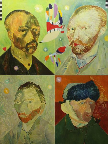 Vincent 170x220 cm 1987