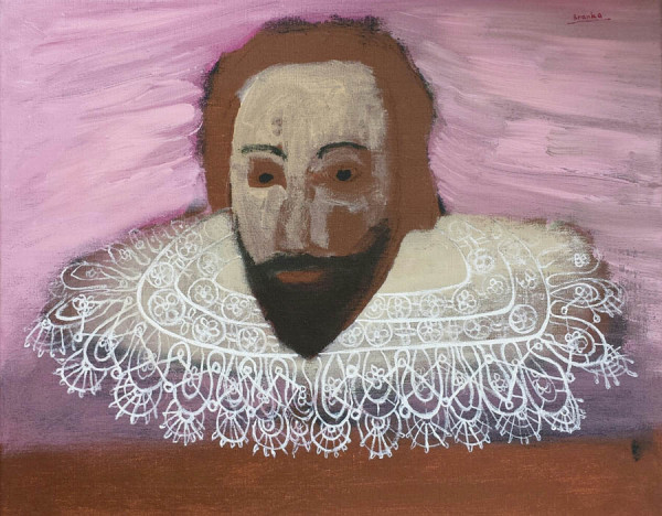 William Shakespeare 50x40 cm 2014