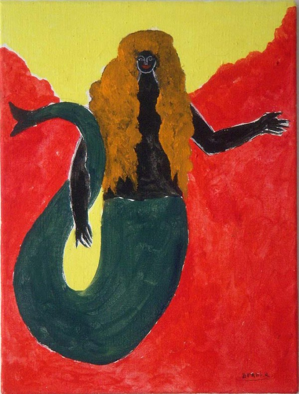 Zeemeermin-Mermaid 30x40 cm 1987