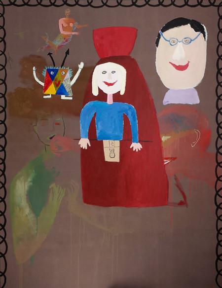 Characters 140x180 cm 1982-2016
