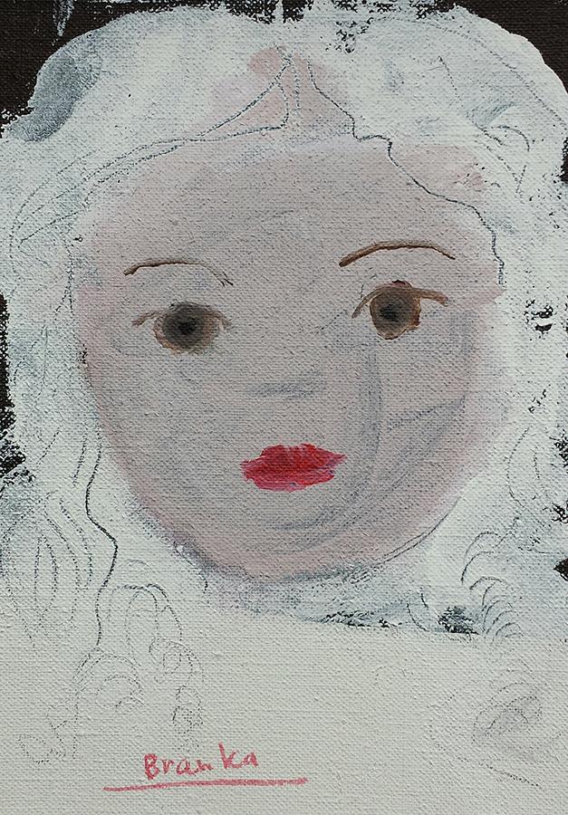 Doll nr. 12 12x18 cm 2003