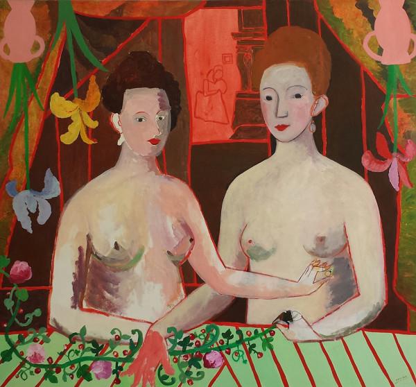 Sisters 130x120 cm 1994