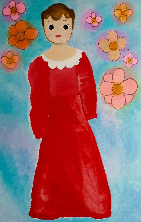 Betty Boop 65x100 cm 2012 Part. coll.