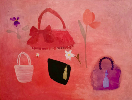 Branka's tasjes-Branka's hand-bags110x75 cm 2005
