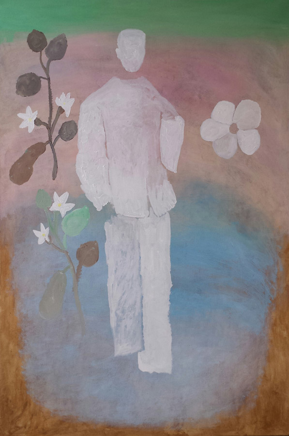 Dichter-Poet 120x180 cm 2002
