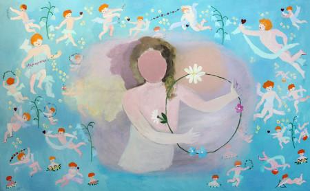 Hemel-Heaven 150x100 cm 1995