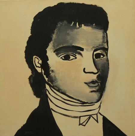Portret-Portrait 50x50 cm 1999