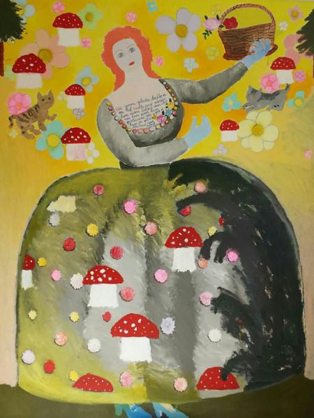 Roodkapje-Little Red Ridinghood 130x170 cm 1996-2013