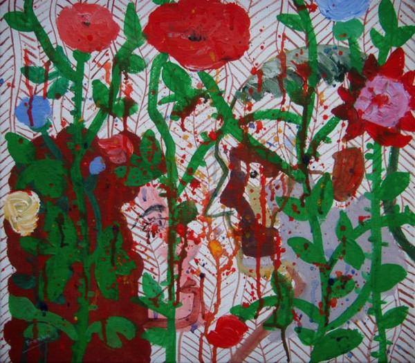 Rozen-Roses 45x40 cm 1990