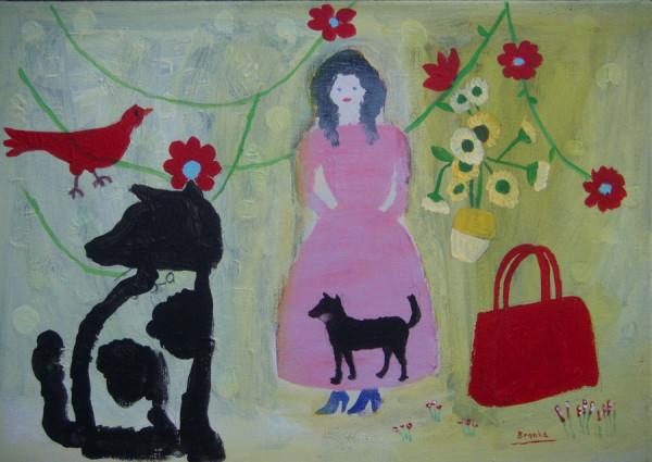 Sneeuwwitje-Little Snow White 50x35 cm 1995-2004