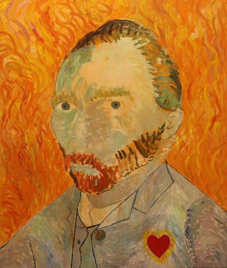Vincent 110x130 cm 1987