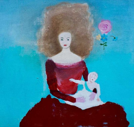Dauphine acrylic on canvas-60x60 cm-2005 Private Coll.