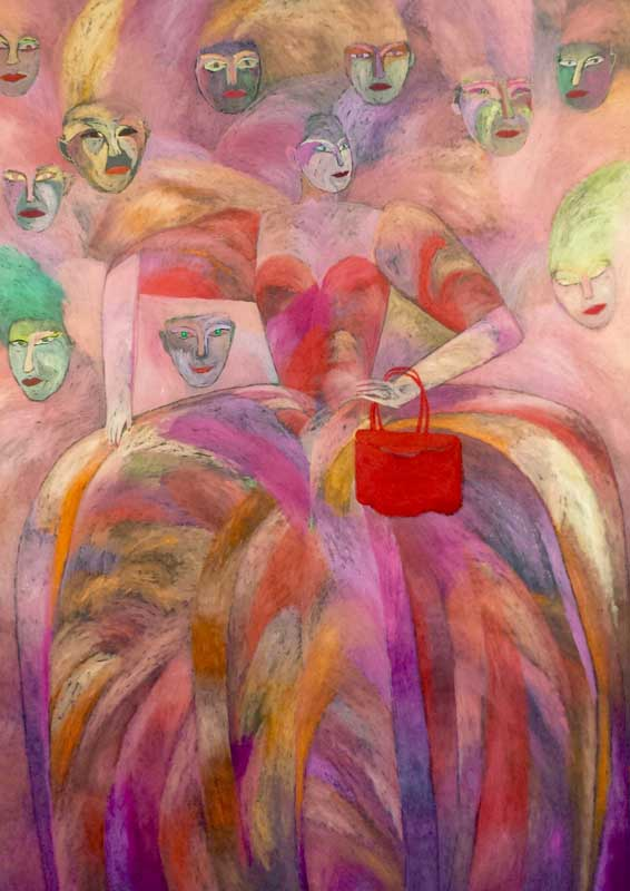 Portrait of G.S. acrylic on canvas-130x180 cm-1982