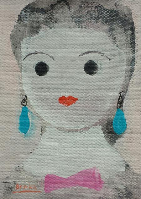 Doll nr. 24 12x18 cm 2003